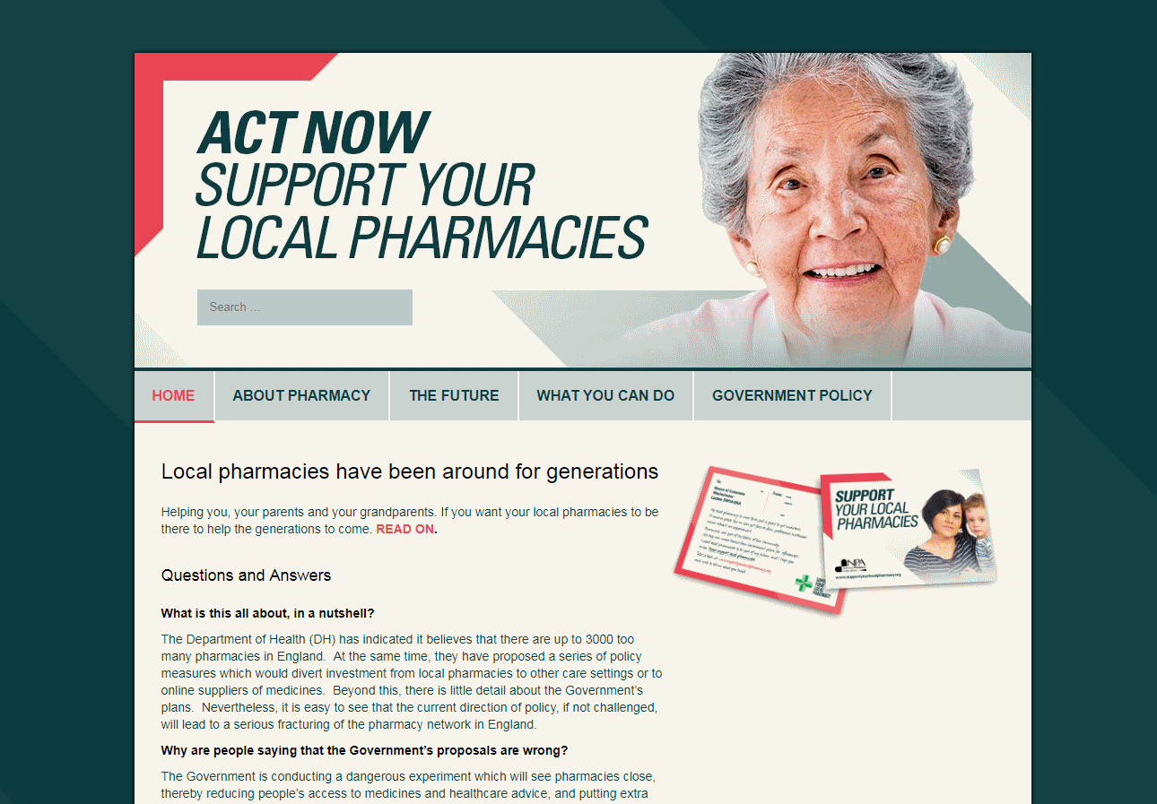 Support Local Pharmacy