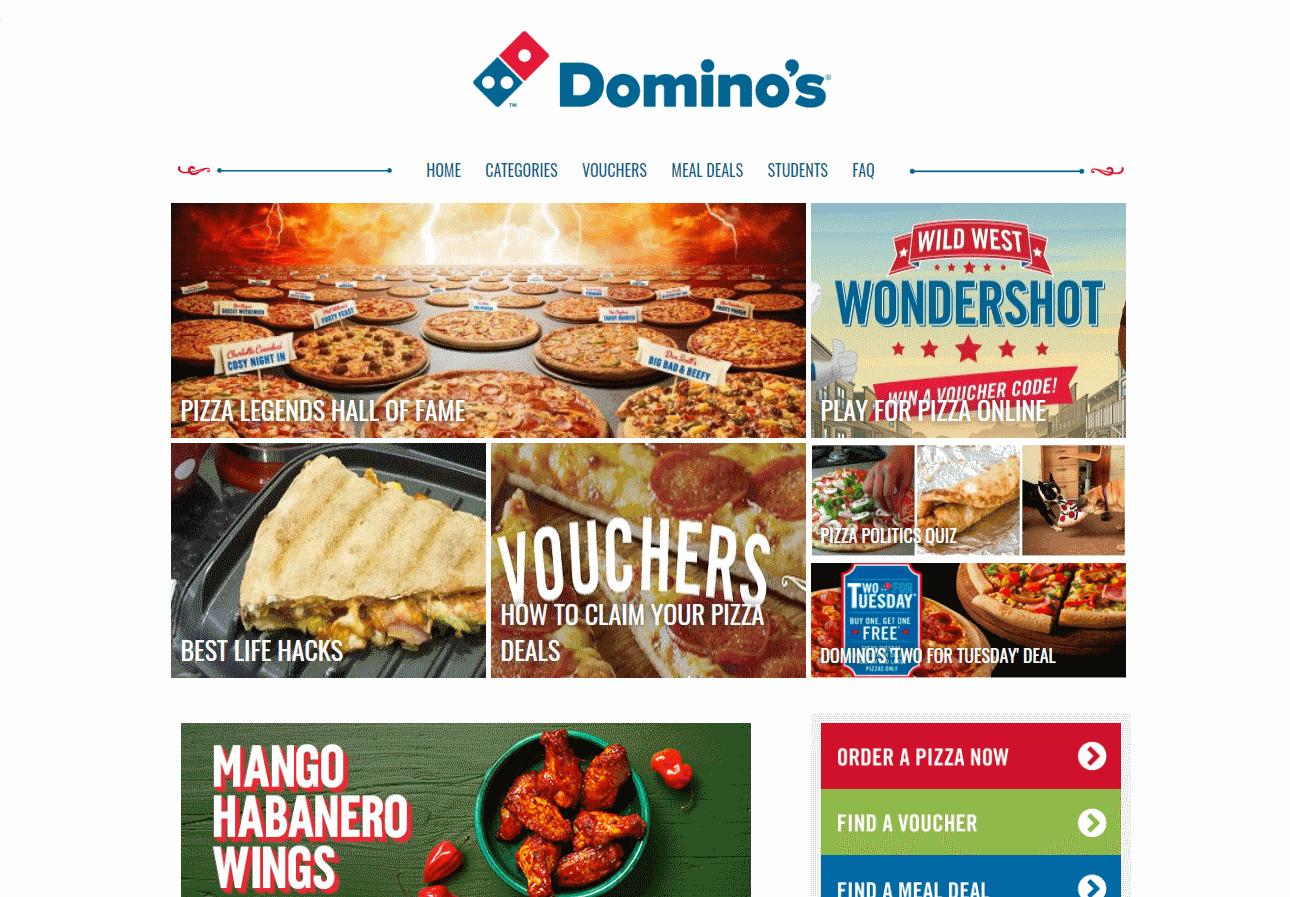 Dominos Blog