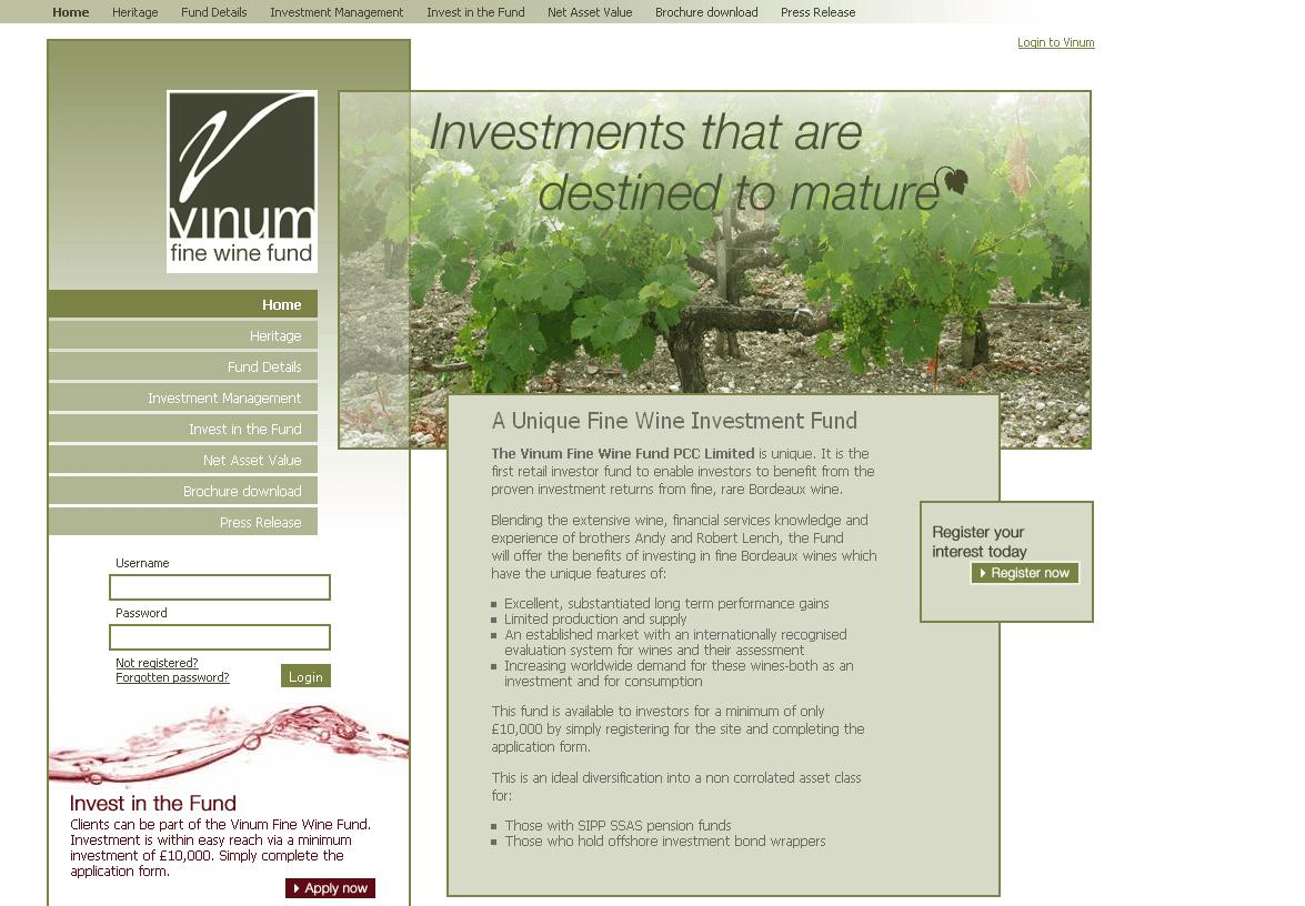 Vinum Wine Fund