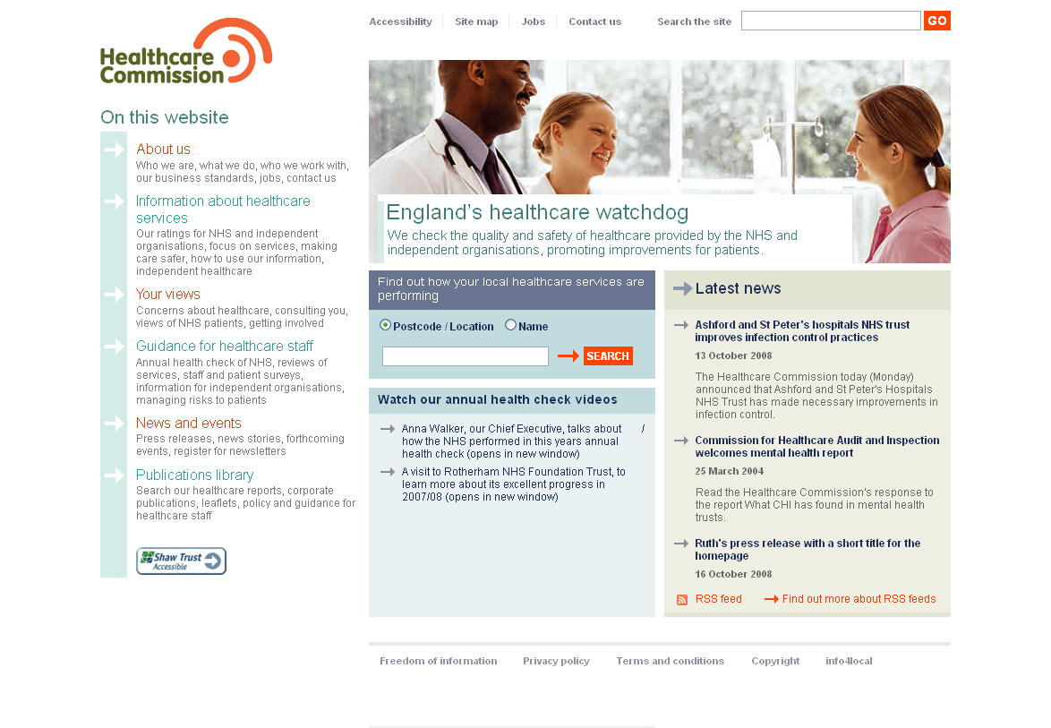 2008 Healthcare Commssion