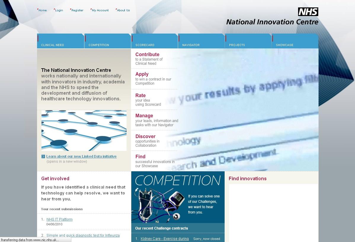 NHS Innovation Centre
