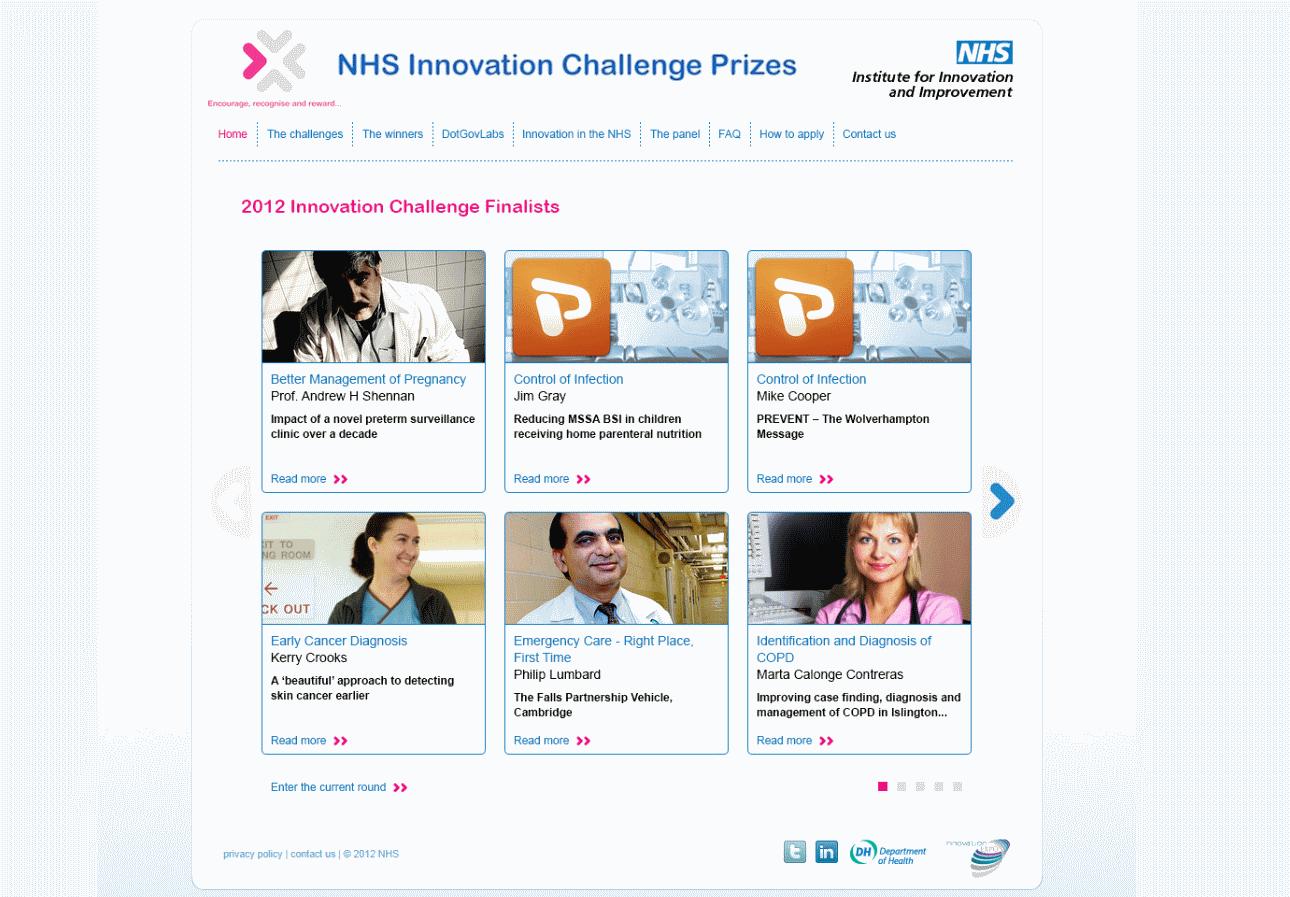 NHS Innovation Challenge