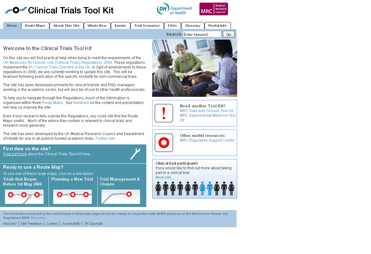 Clinical Trials Tool Kit